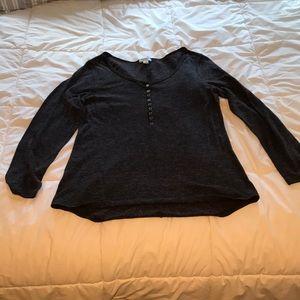 Old navy long sleeve t-shirt! Dark gray